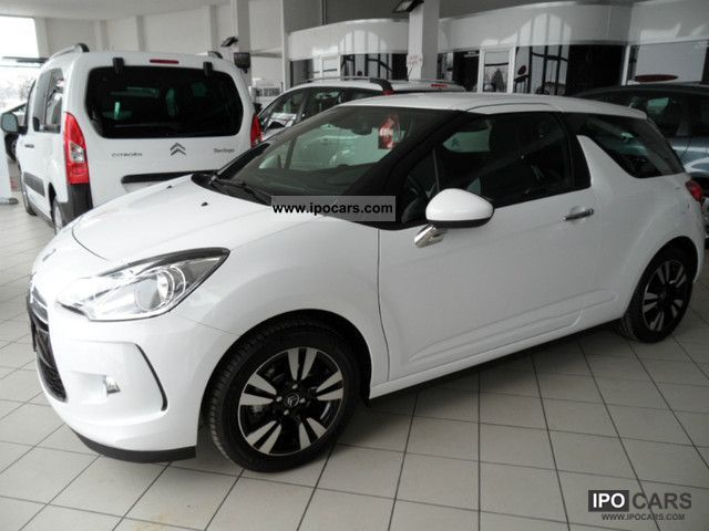 2012 citroen ds3 1 4 vti chic car photo and specs. Black Bedroom Furniture Sets. Home Design Ideas