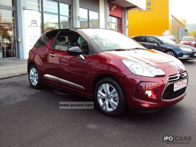 2011 citroen ds3 vti 120 auto selection sochic car photo and specs. Black Bedroom Furniture Sets. Home Design Ideas