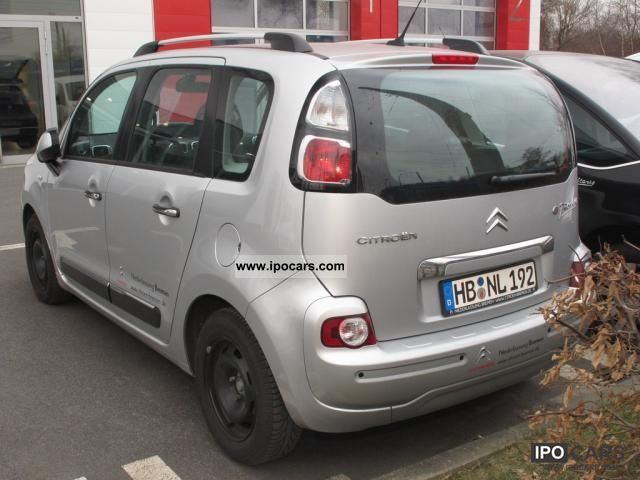 2011 citroen c3 picasso hdi 110 fap exclusive cruise control climate car photo and specs. Black Bedroom Furniture Sets. Home Design Ideas