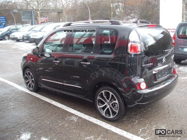 2011 citroen c3 picasso hdi 110 fap exclusive first hand car photo and specs. Black Bedroom Furniture Sets. Home Design Ideas