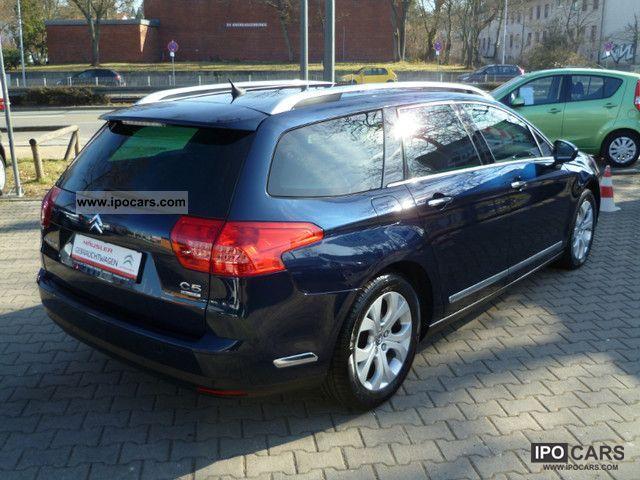 2010 citroen c5 tourer hdi 140 fap exclusive car photo and specs. Black Bedroom Furniture Sets. Home Design Ideas