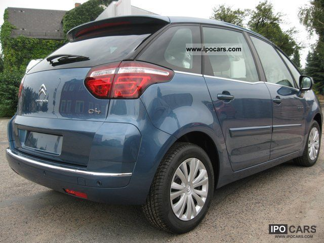 2011 citroen c4 picasso selection vti120 led car photo and specs. Black Bedroom Furniture Sets. Home Design Ideas