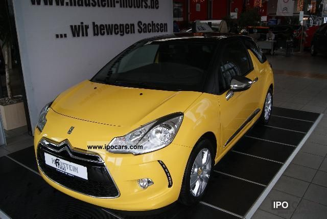 2012 citroen ds3 so chic vti 120 car photo and specs. Black Bedroom Furniture Sets. Home Design Ideas