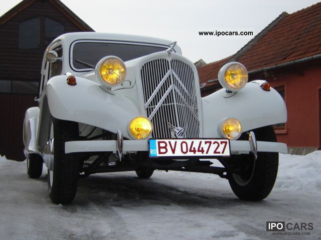 Citroen  Traction Avant 11 BL 1954 Vintage, Classic and Old Cars photo