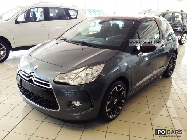 2012 citroen ds3 1 4 hdi 70 chic perfo car photo and specs. Black Bedroom Furniture Sets. Home Design Ideas