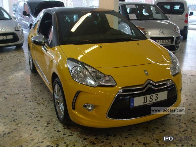 2012 citroen ds3 vti 120 with sochic selection package car photo and specs. Black Bedroom Furniture Sets. Home Design Ideas