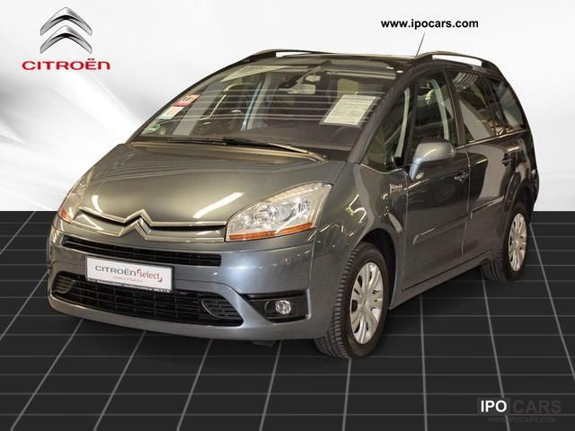 2011 citroen c4 picasso vti 120 7 seats car photo and specs. Black Bedroom Furniture Sets. Home Design Ideas