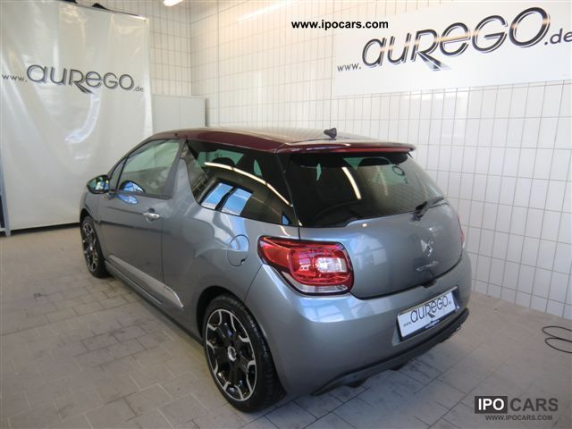2012 citroen ds3 6 1 sport chic thp150 car photo and specs. Black Bedroom Furniture Sets. Home Design Ideas