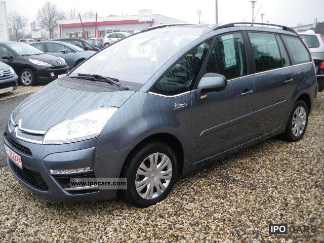 2011 citroen c4 picasso 1 6 hdi fap e egs6 car photo and specs. Black Bedroom Furniture Sets. Home Design Ideas