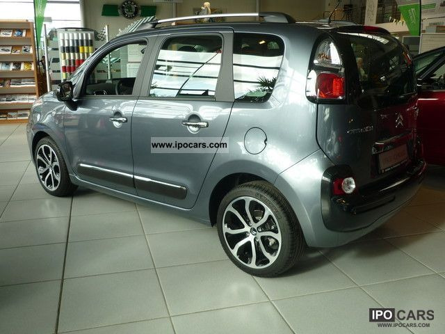 2012 citroen c3 picasso hdi 90 fap egs6 selection car photo and specs. Black Bedroom Furniture Sets. Home Design Ideas