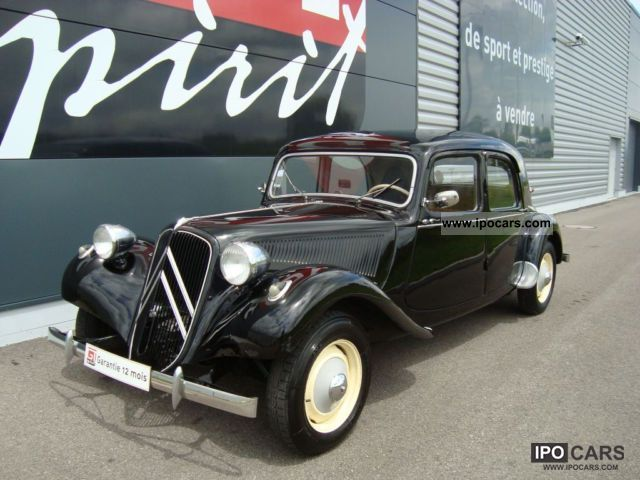 Citroen  Traction 11 B 1954 Vintage, Classic and Old Cars photo