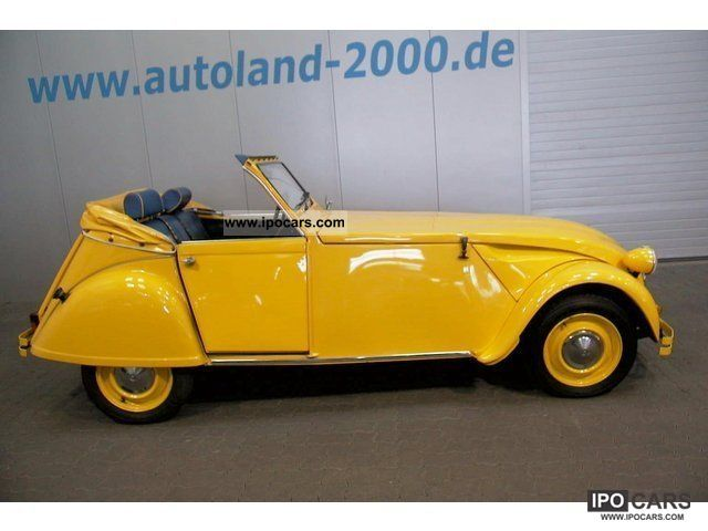 1974 Citroen  2CV Convertible 2CV4! The longest banana in the world! Cabrio / roadster Used vehicle photo