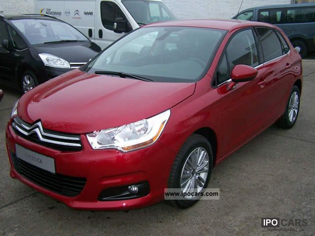 2012 citroen c4 new vti 120 tendance 88kw 120ps car photo and specs. Black Bedroom Furniture Sets. Home Design Ideas