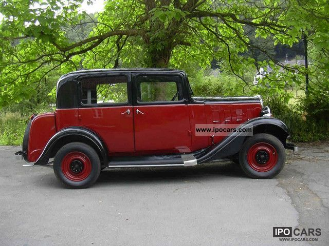 Citroen  8 CV Rosalie 1934 Vintage, Classic and Old Cars photo