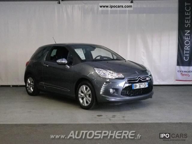 2011 citroen ds3 1 6 vti so chic car photo and specs. Black Bedroom Furniture Sets. Home Design Ideas