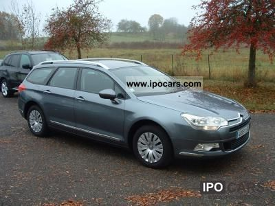 2009 citroen c5 tourer 1 6 hdi 110 fap comfort car photo and specs. Black Bedroom Furniture Sets. Home Design Ideas