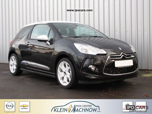 2011 citroen ds3 120 vti sochic klimaautomatik pdc car photo and specs. Black Bedroom Furniture Sets. Home Design Ideas