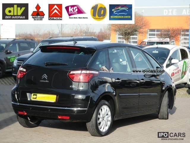 2011 citroen c4 picasso exclusive 155 egs6 sitzhzg navi car photo and specs. Black Bedroom Furniture Sets. Home Design Ideas