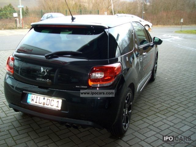 2011 citroen ds3 thp sport chic car photo and specs. Black Bedroom Furniture Sets. Home Design Ideas