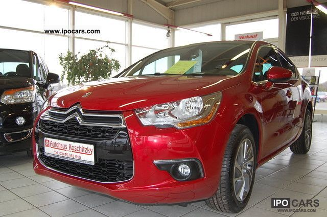 2011 citroen ds4 1 6 vti 120 chic now 0 leasing possible car photo and specs. Black Bedroom Furniture Sets. Home Design Ideas