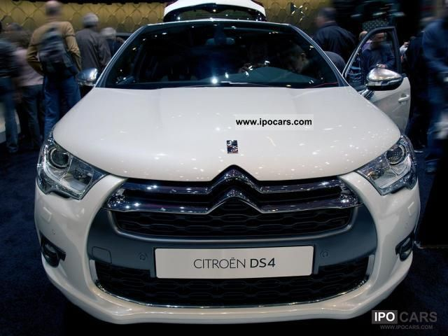 2011 citroen ds4 chic vti 120 88 kw 120 hp switching 5 g car photo and specs. Black Bedroom Furniture Sets. Home Design Ideas