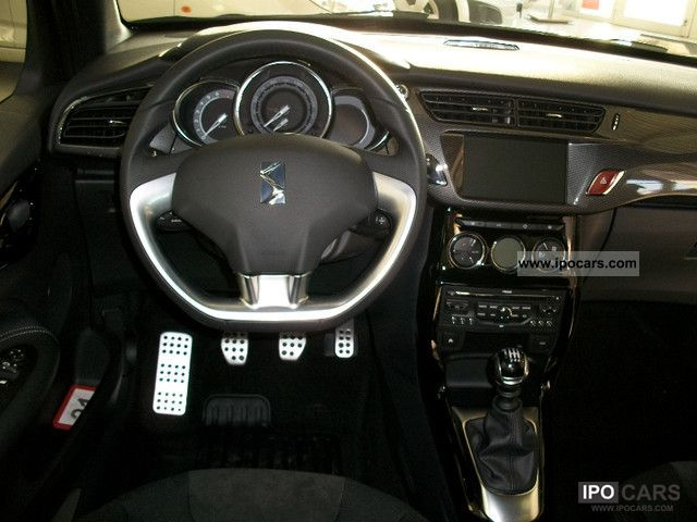 2012 citroen ds3 thp 155 sport chic hifi system gps car photo and specs. Black Bedroom Furniture Sets. Home Design Ideas
