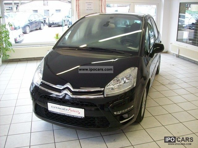 2011 citroen c4 picasso 1 6 exclusive 16v egs6 navigation car photo and specs. Black Bedroom Furniture Sets. Home Design Ideas
