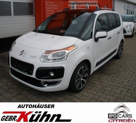 2012 Citroen  C3 Picasso HDi 110 FAP Excl. Panorama / Black Pake Estate Car Pre-Registration photo