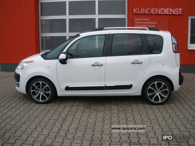 2012 citroen c3 picasso hdi 110 fap excl panorama black pake car photo and specs. Black Bedroom Furniture Sets. Home Design Ideas