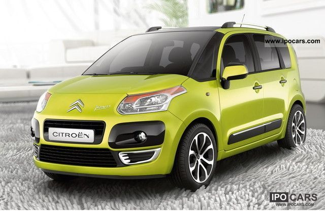 2011 Citroen  C3 Picasso e-HDi 90 FAP EGS6 Exclusive incl Practice Estate Car New vehicle photo