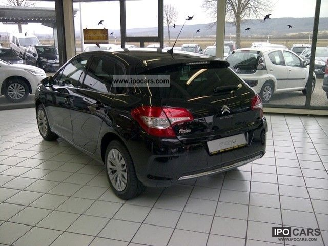 2012 citroen c4 hdi 110 e selection car photo and specs. Black Bedroom Furniture Sets. Home Design Ideas