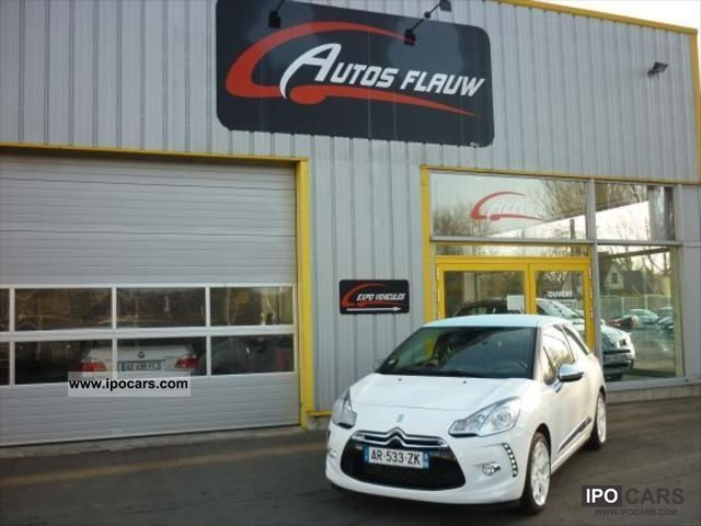 2010 Citroen  DS3 1.6 THP 150ch SPORT CHIC Sports car/Coupe Used vehicle photo