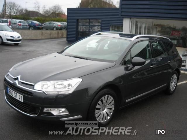 2009 citroen c5 tourer 2 0 hdi140 fap confort car photo and specs. Black Bedroom Furniture Sets. Home Design Ideas
