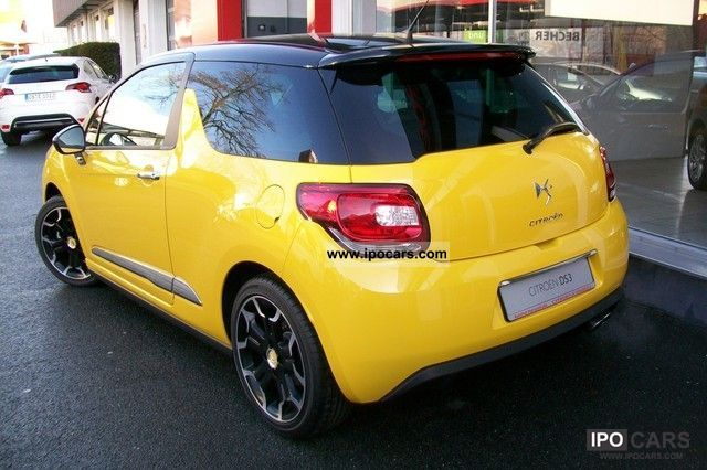 2012 citroen ds3 1 6 thp 150 sport chic car photo and specs. Black Bedroom Furniture Sets. Home Design Ideas