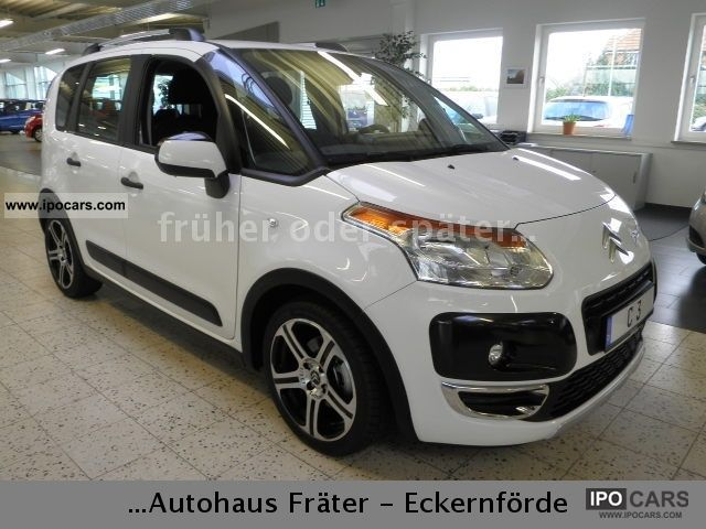 2012 Citroen  C3 Picasso HDi 110 FAP Carlsson Van / Minibus Pre-Registration photo