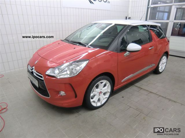 2011 citroen ds3 6 1 sport chic thp155 car photo and specs. Black Bedroom Furniture Sets. Home Design Ideas