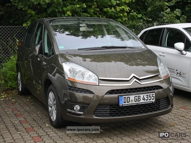 2011 citroen c4 picasso 1 6 hdi fap cooltec pdc car photo and specs. Black Bedroom Furniture Sets. Home Design Ideas