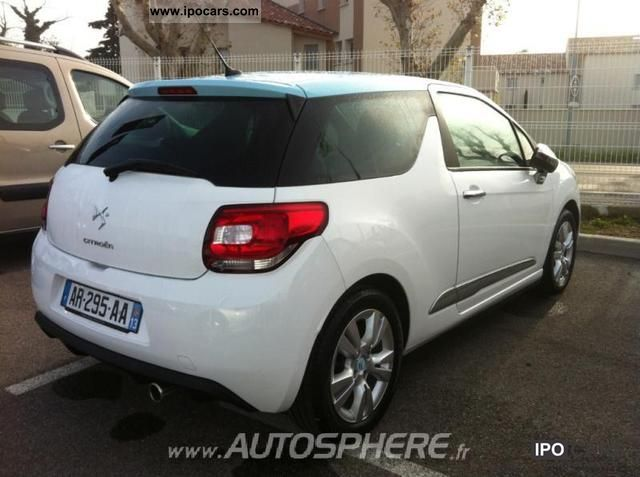 2010 citroen ds3 1 6 hdi90 fap so chic car photo and specs. Black Bedroom Furniture Sets. Home Design Ideas