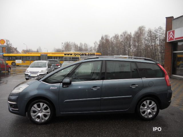 2011 citroen c4 picasso grand 2 0hdi demo 150km exclusive kra car photo and specs. Black Bedroom Furniture Sets. Home Design Ideas