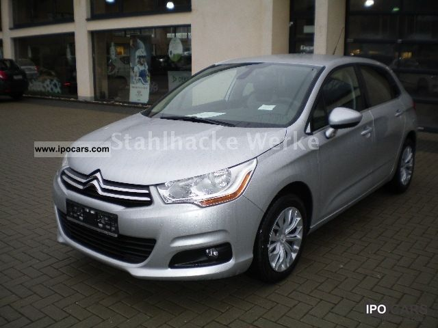 2012 citroen c4 hdi 110 fap selection tageszulassung car photo and specs