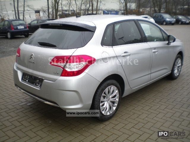 2012 citroen c4 hdi 110 fap selection tageszulassung car photo and specs. Black Bedroom Furniture Sets. Home Design Ideas