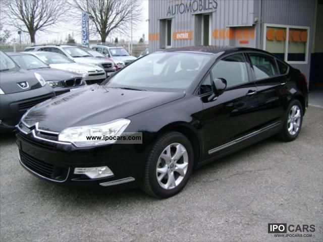 2010 citroen c5 ii 2 0 hdi140 fap dynamique car photo and specs. Black Bedroom Furniture Sets. Home Design Ideas