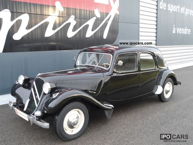 Citroen  Traction 11B 1953 Vintage, Classic and Old Cars photo