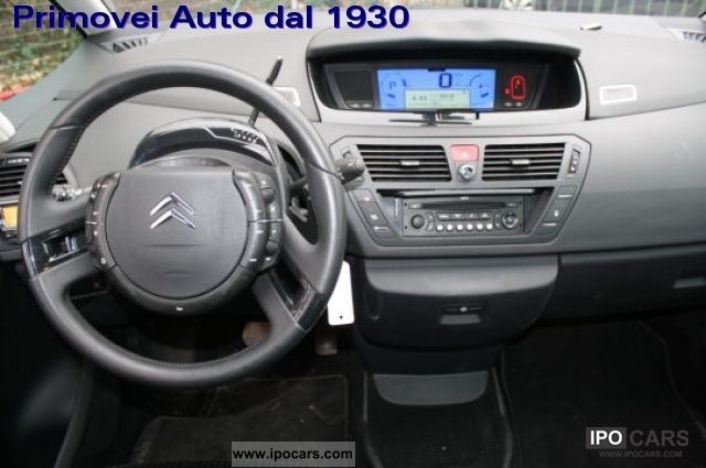2008 citroen c4 gr picasso hdi exclusive car photo and specs. Black Bedroom Furniture Sets. Home Design Ideas