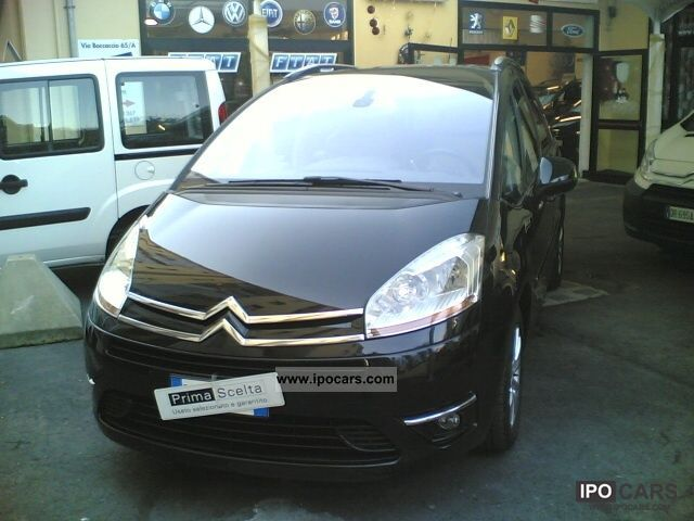 2008 citroen c4 gr picasso 2 0 hdi 138 fap aut excl car photo and specs. Black Bedroom Furniture Sets. Home Design Ideas