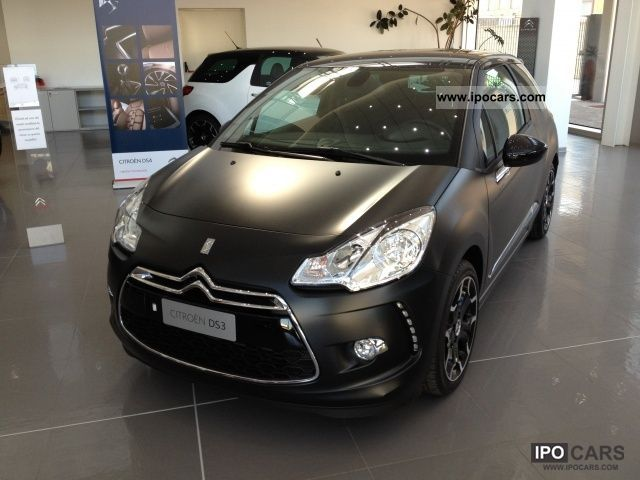 2012 citroen ds3 1 6 thp 155 justblack car photo and specs. Black Bedroom Furniture Sets. Home Design Ideas