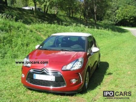 2012 Citroen  DS3 1.6 SO CHIC AIRDREAM Limousine Used vehicle photo