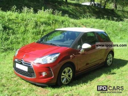 2012 citroen ds3 1 6 so chic airdream car photo and specs. Black Bedroom Furniture Sets. Home Design Ideas