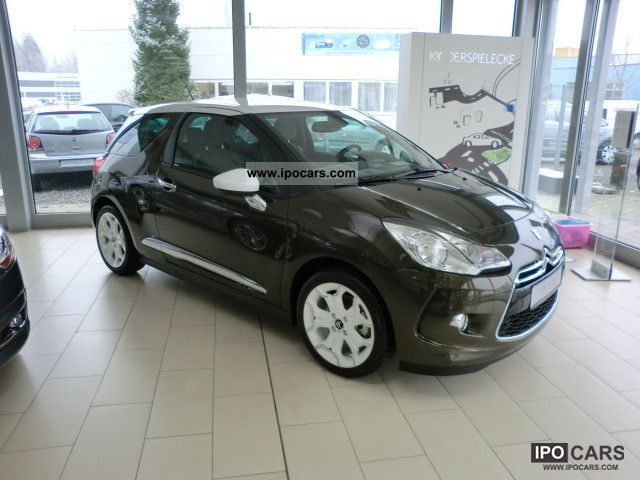 2012 citroen ds3 1 6 thp 155 sport chic car photo and specs. Black Bedroom Furniture Sets. Home Design Ideas