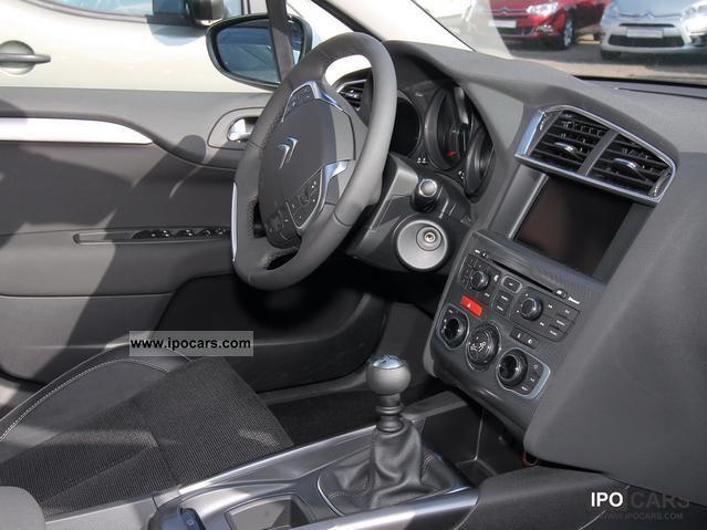2012 Citroen C4 Hdi 110 Fap Exclusive Navi Car Photo And
